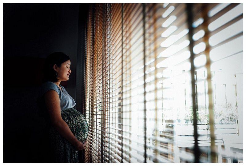 Zwangerschapsfotoshoot aan huis in Utrecht