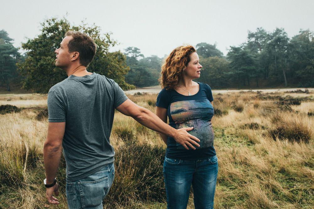originele zwangerschapsfotografie den bosch