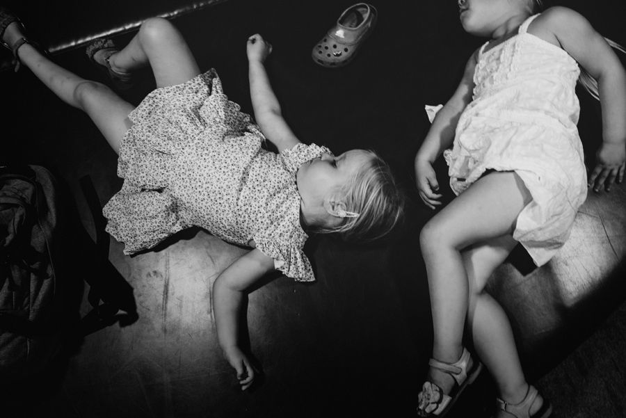 ongeposeerde fotografie gezin