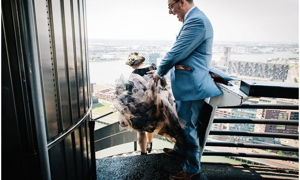 journalistieke bruidsfotografie bruidsfotograaf Rotterdam