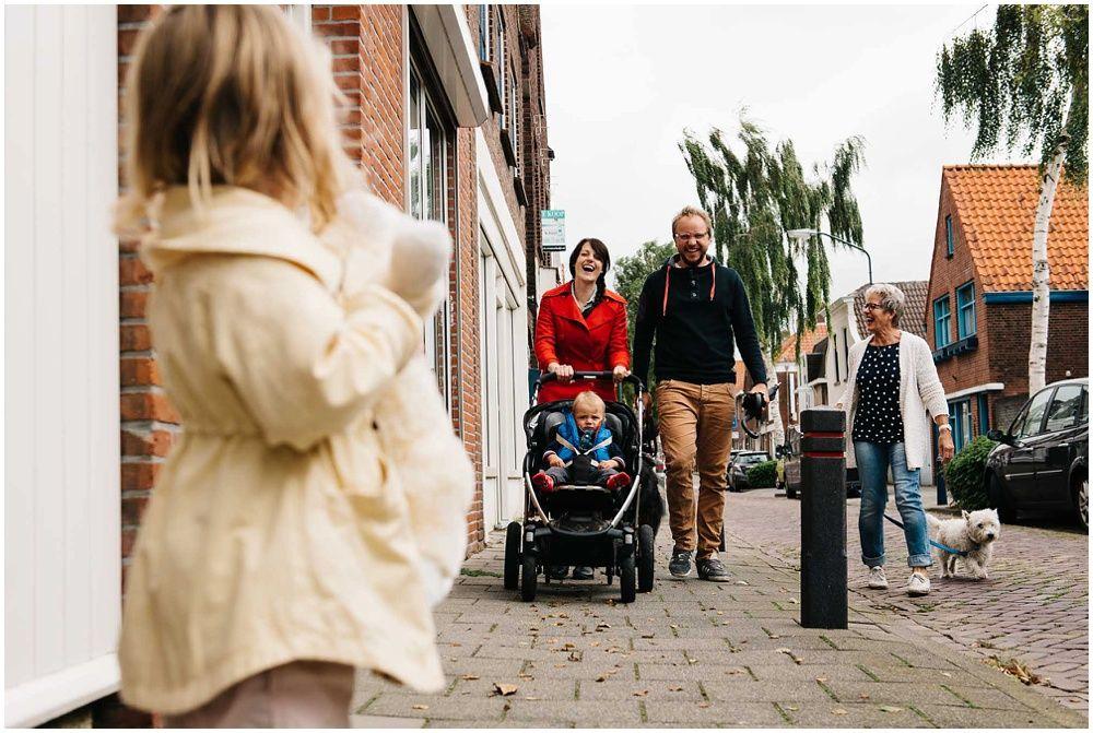 familiefotograaf spontaan niet geposeerd documentair