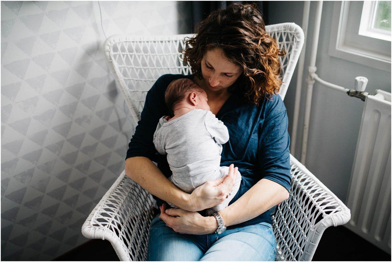 Natuurlijke newborn fotografie