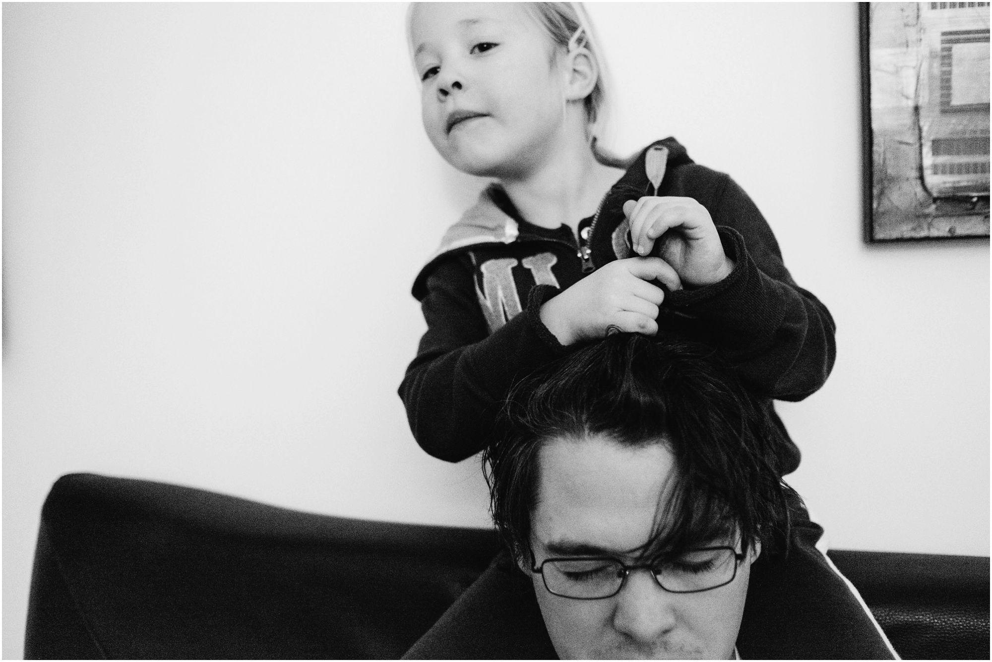 Documentaire familiefotografie - spontane familiefoto's
