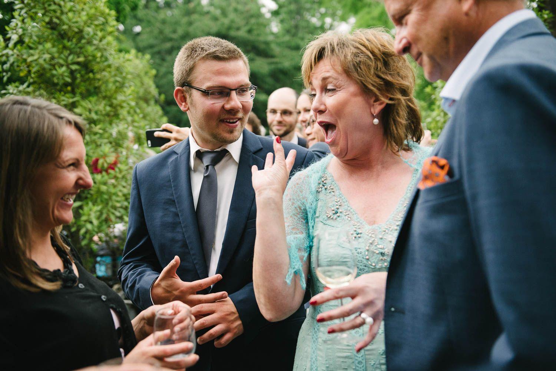 bruidsfotograaf Leiden originele trouwfoto's