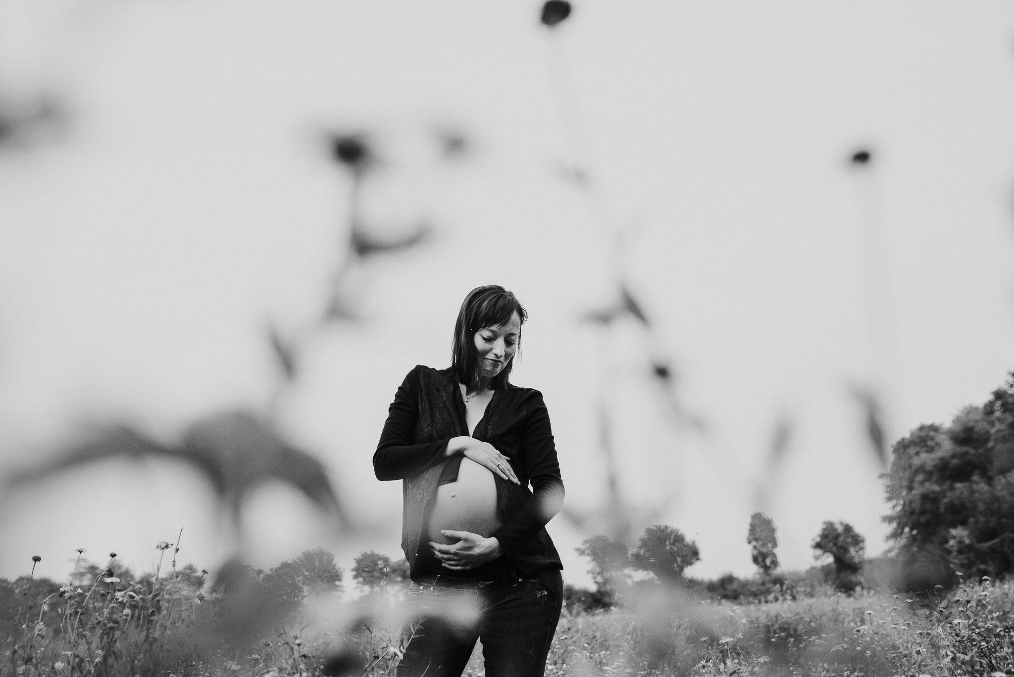 fotoshoot zwanger stoer origineel