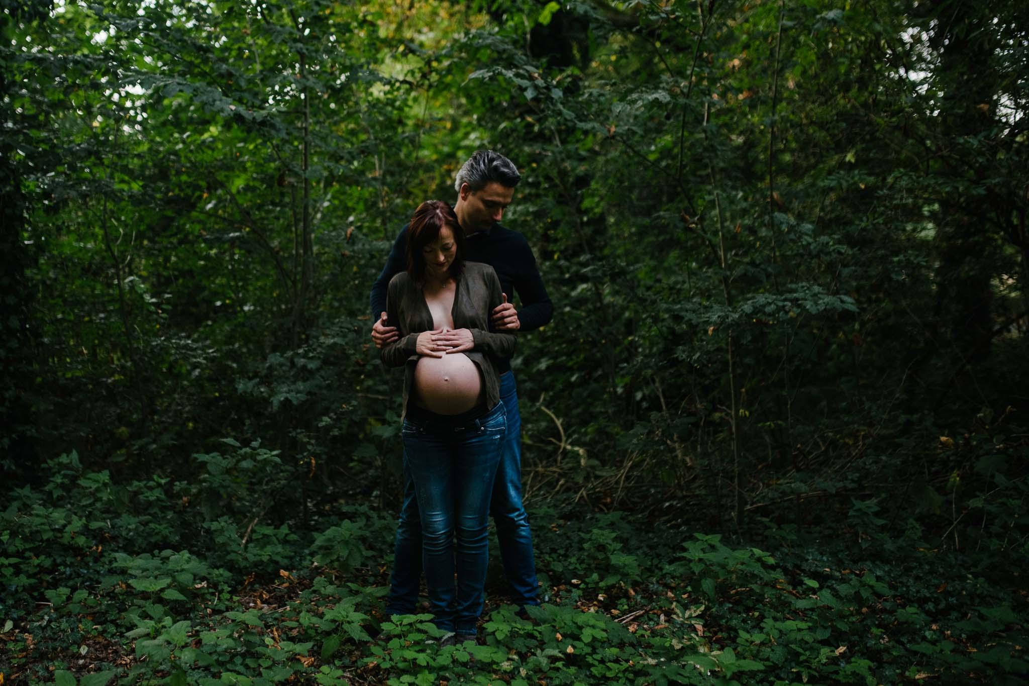 fotoshoot zwanger stoer anders