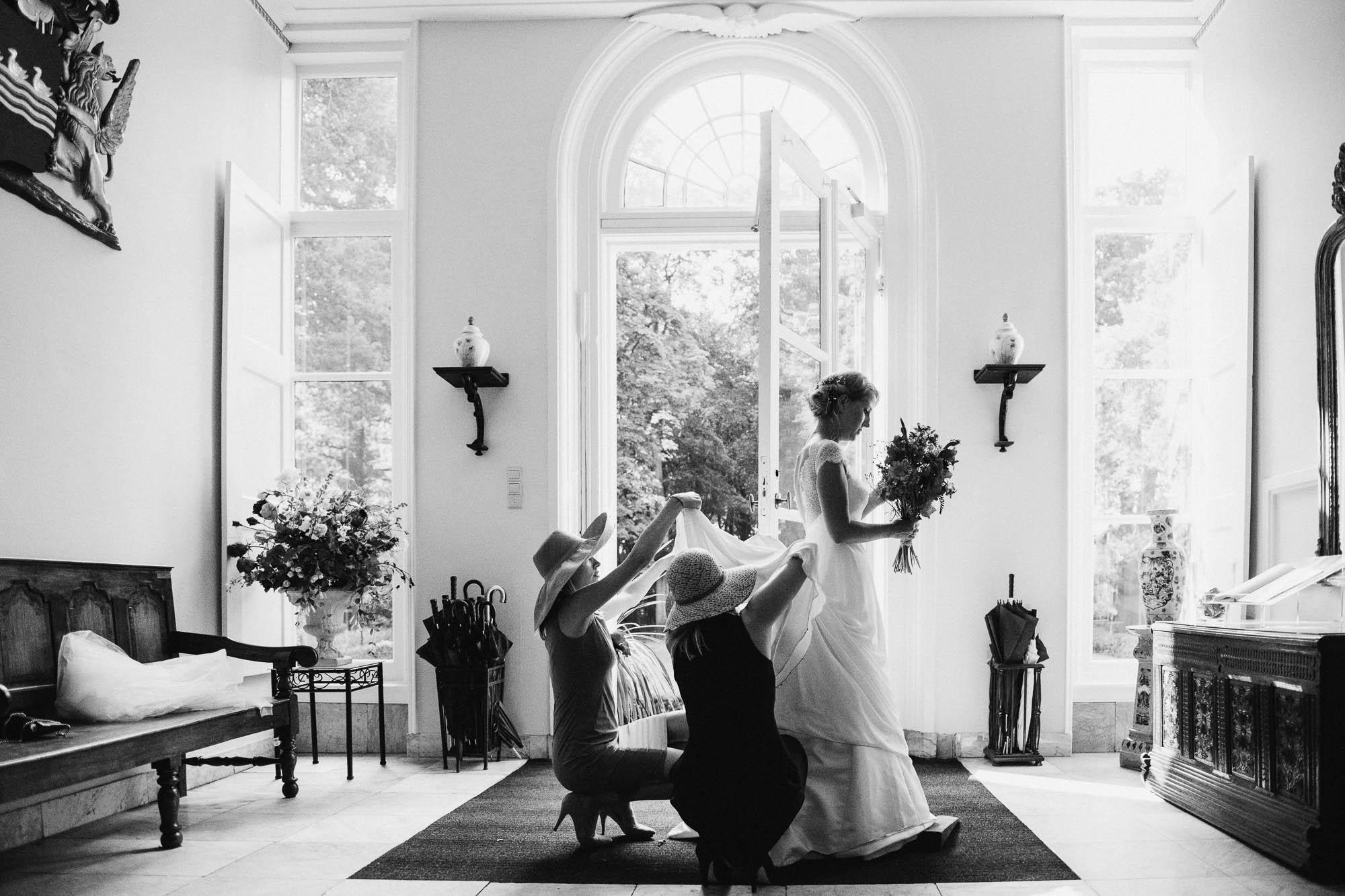 prijswinnende bruidsfotograaf bruiloft in Leiden