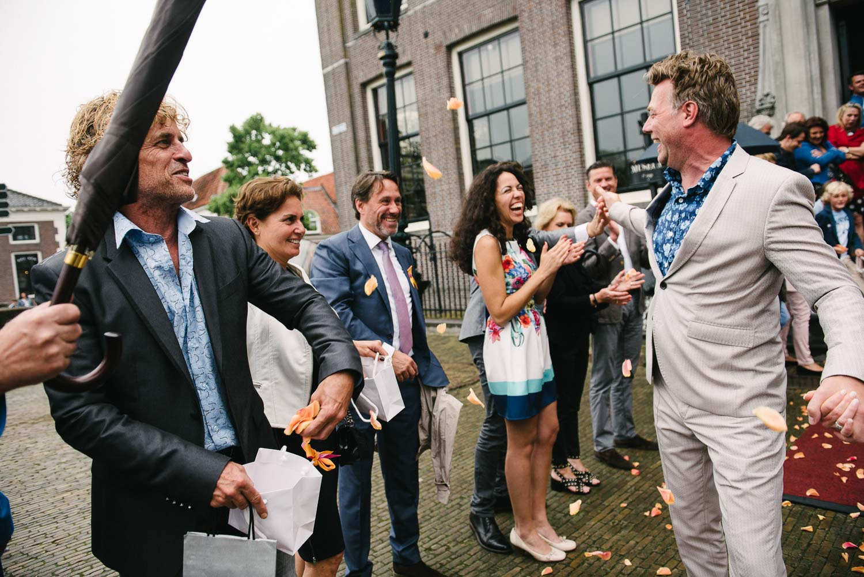 fotograaf bruiloft Amsterdam spontaan