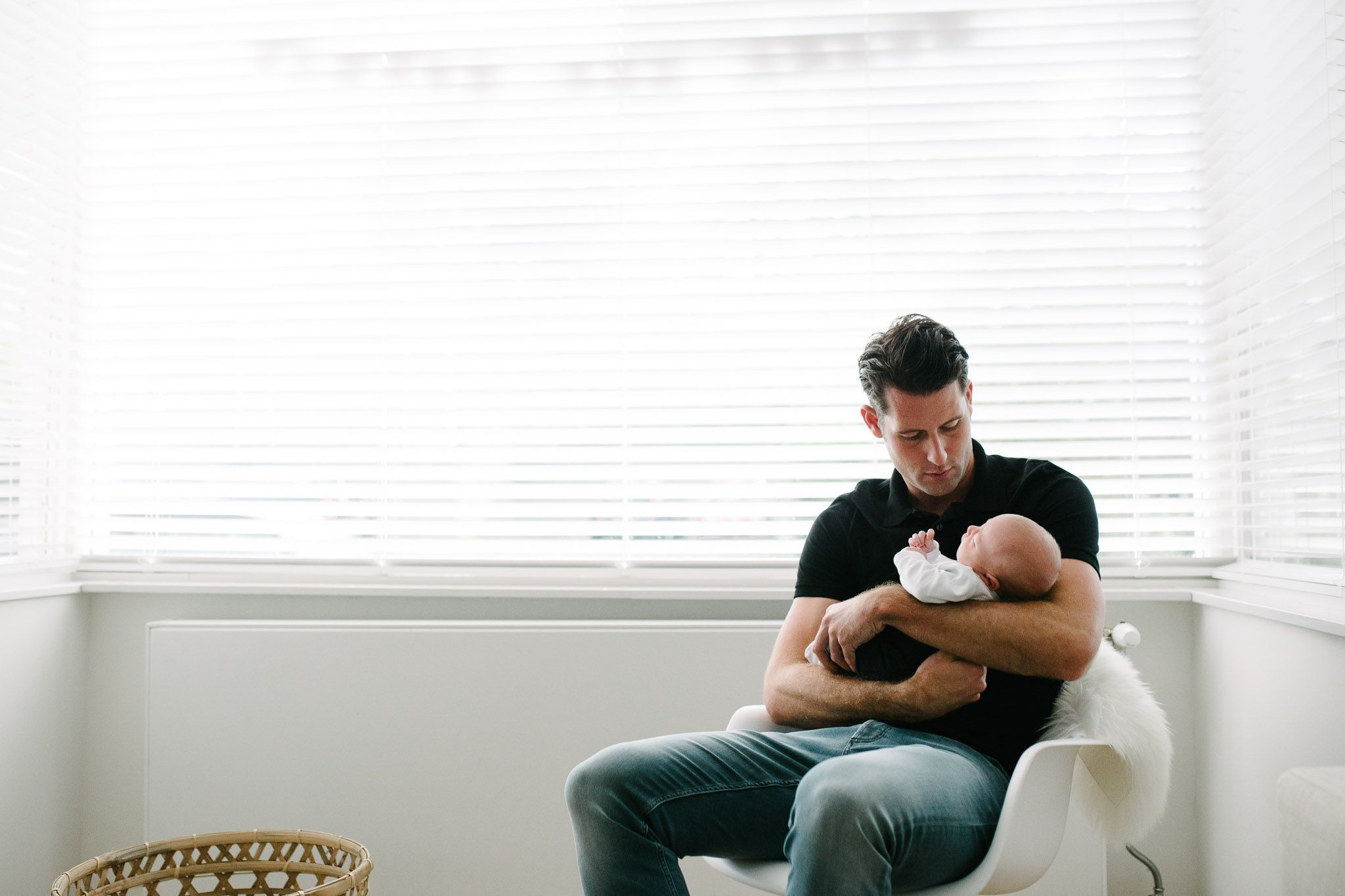 originele newbornfoto's fotoshoot stoer