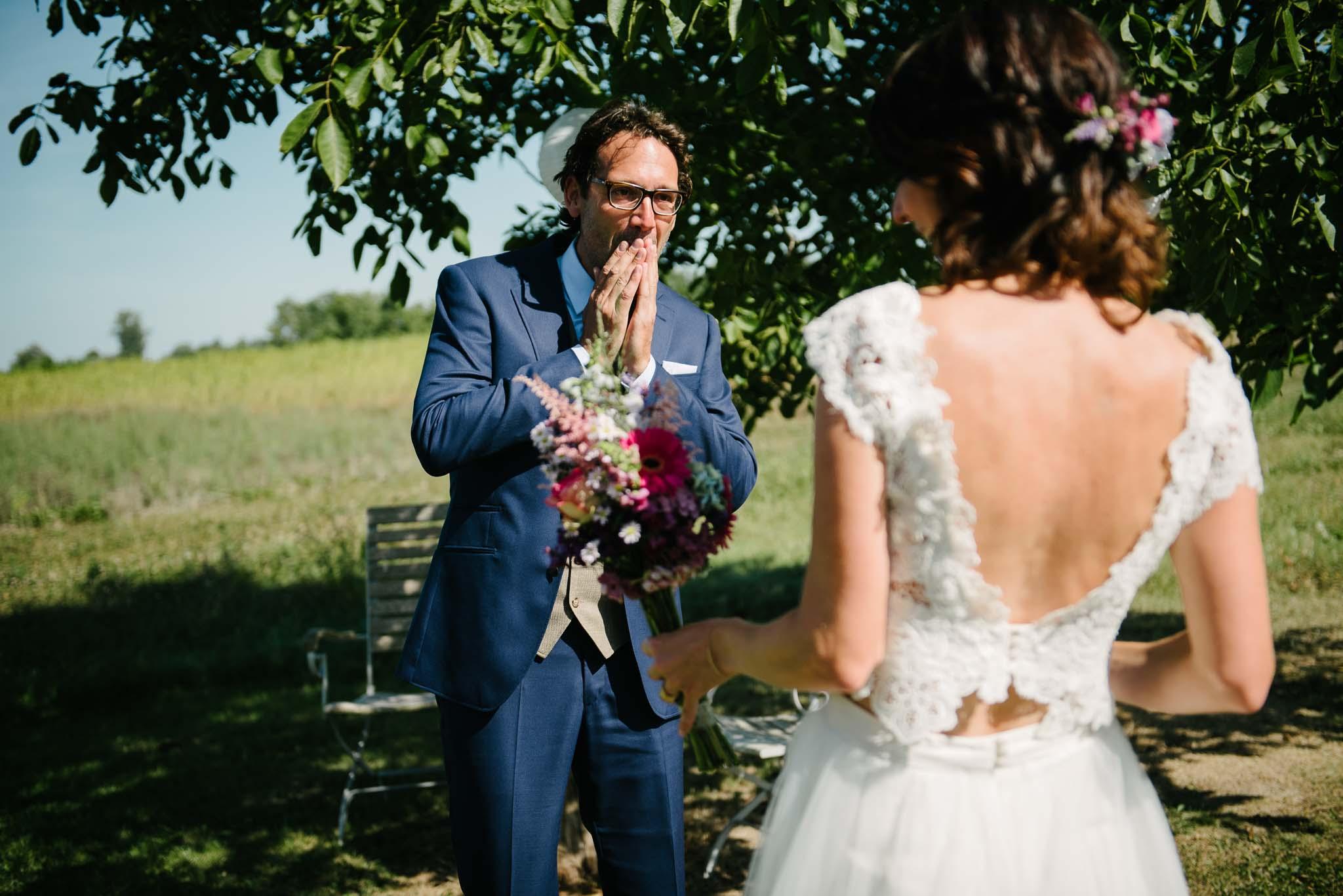 spontane foto's bruiloft