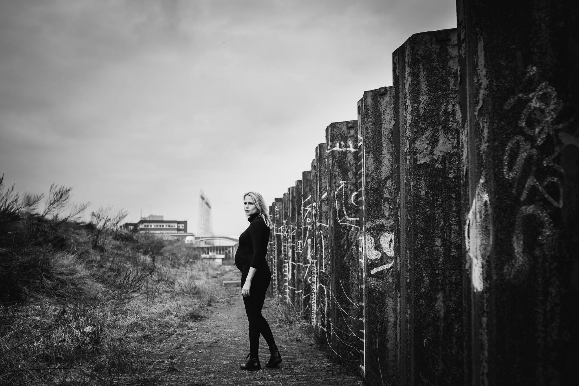 fotoshoot zwanger stoer Nijmegen