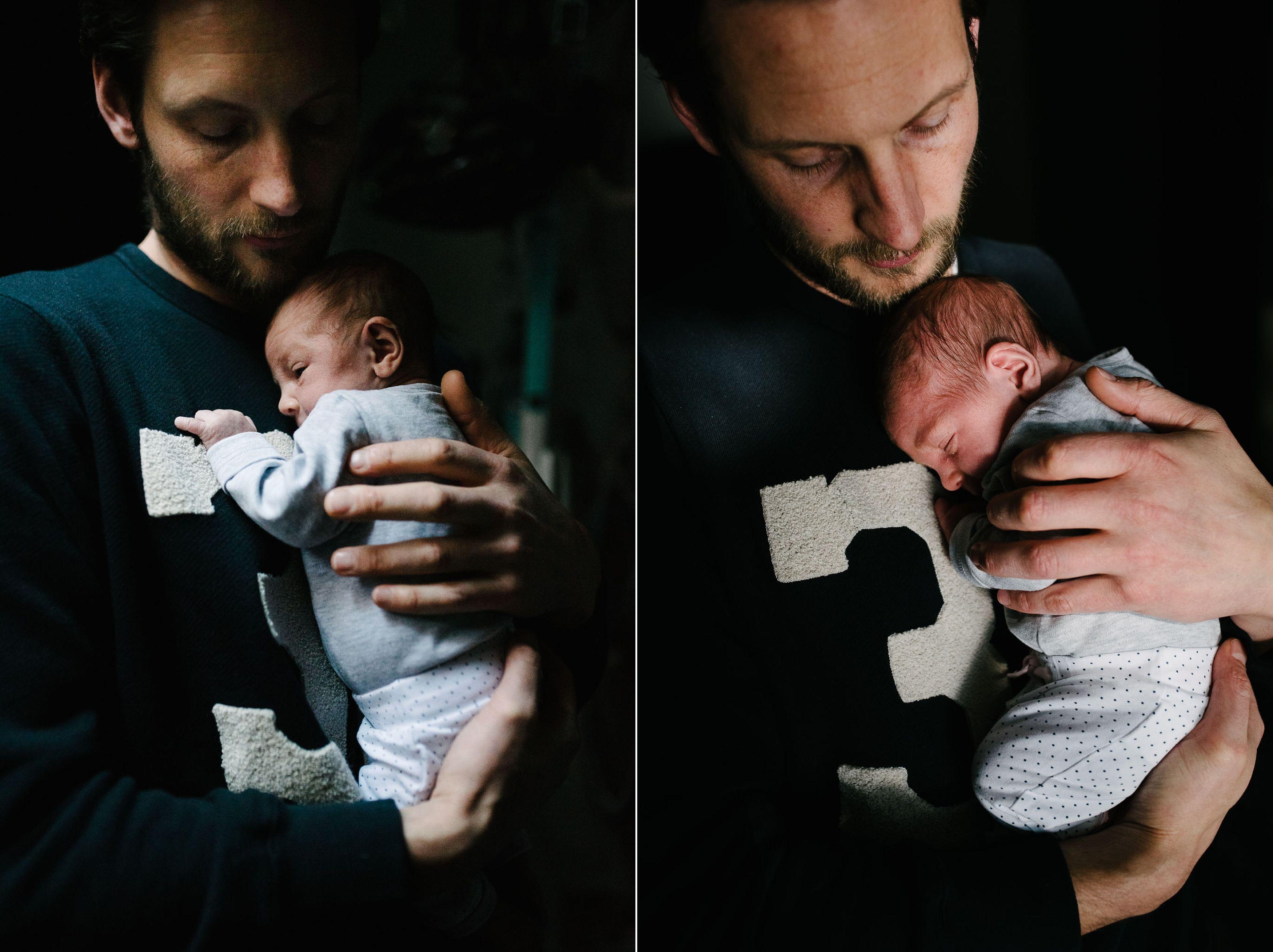 originele foto's newborn