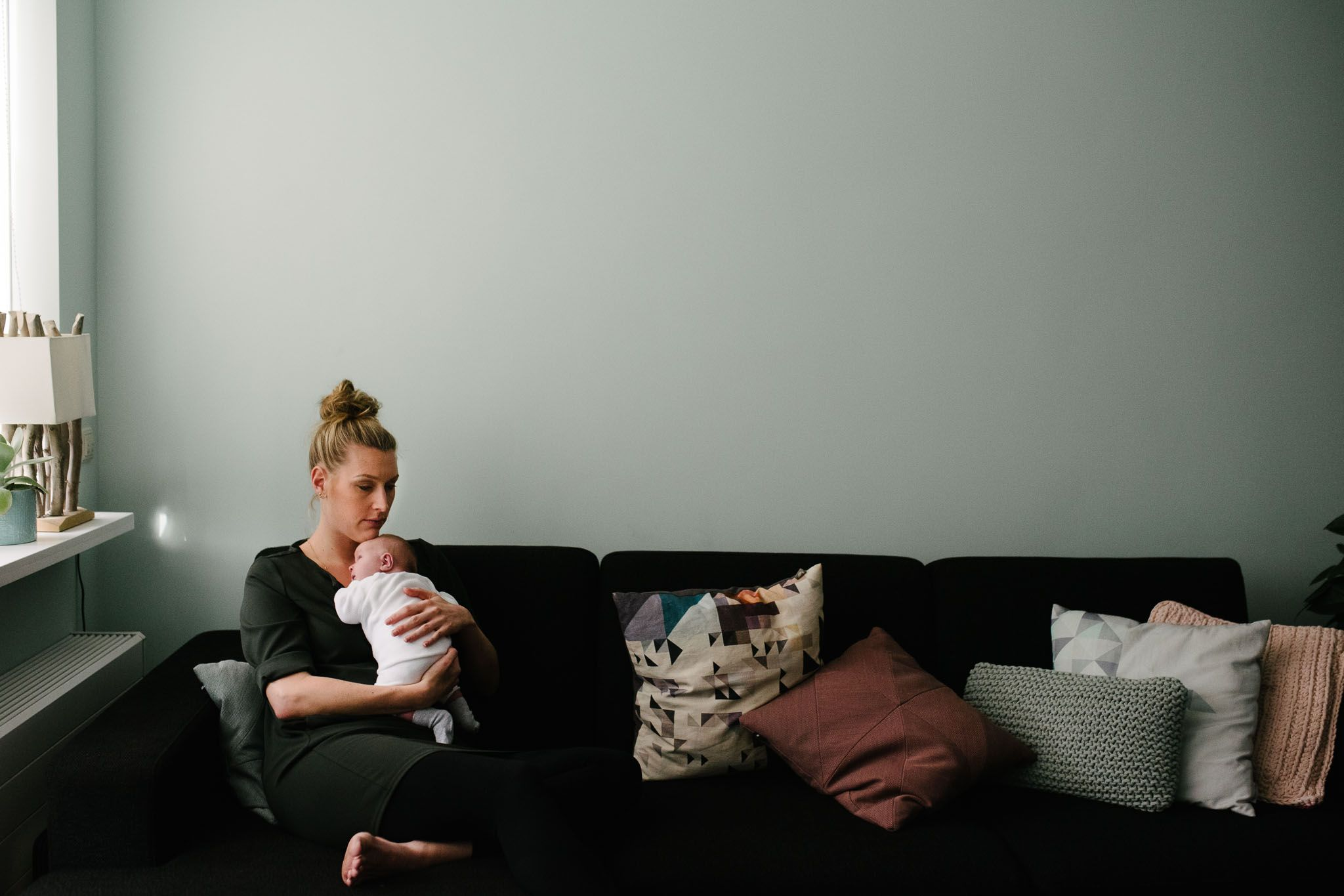 fotoshoot newborn thuis
