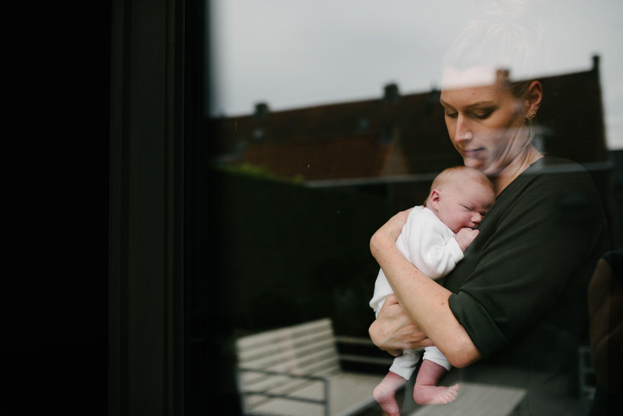 stoere newbornfoto's Utrecht