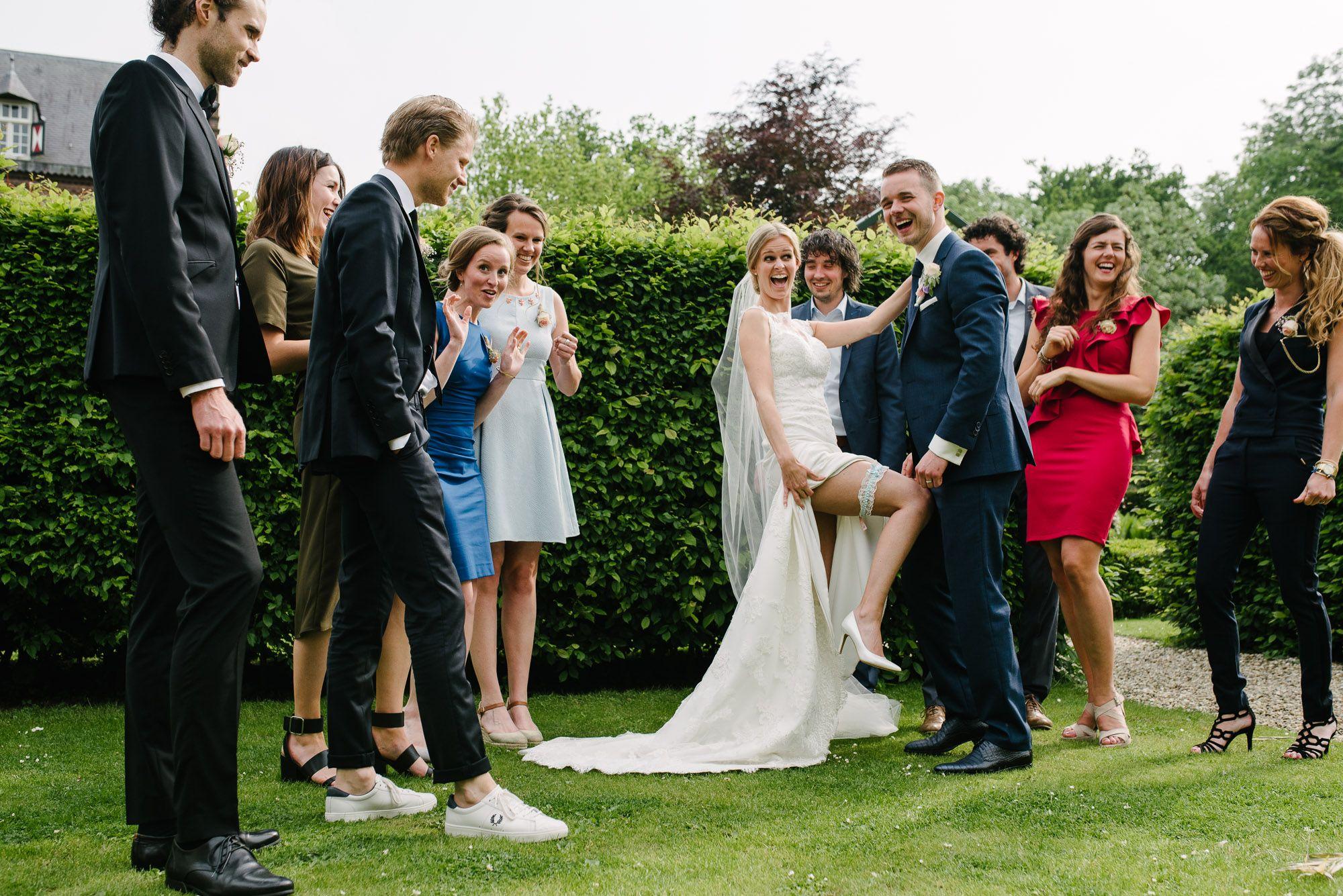 spontane foto's bruiloft Den Bosch Vught