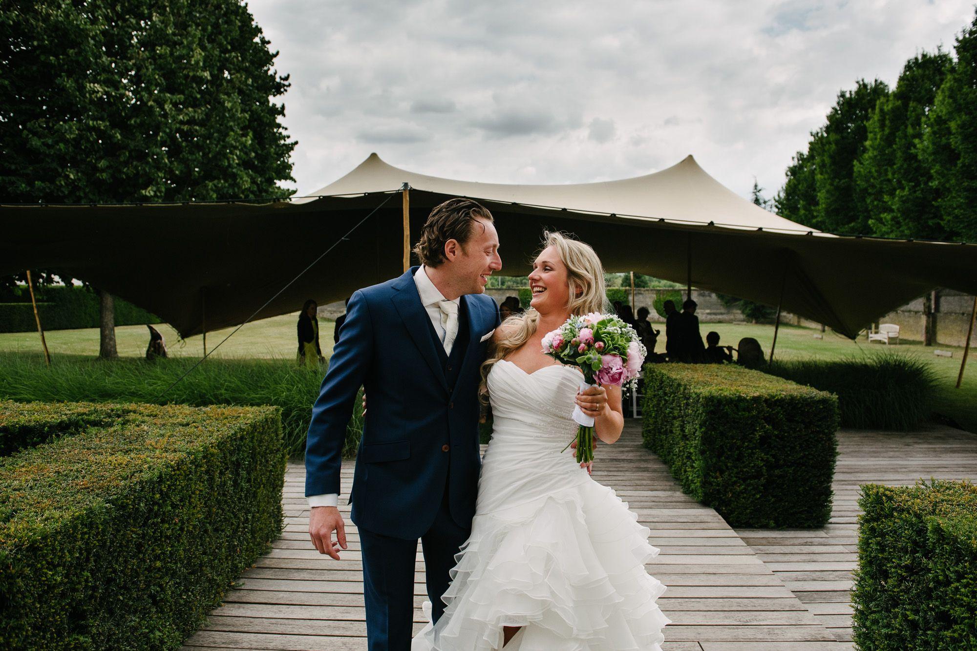 bruiloft bij Kasteel de Hoogenweerth Maastricht fotograaf