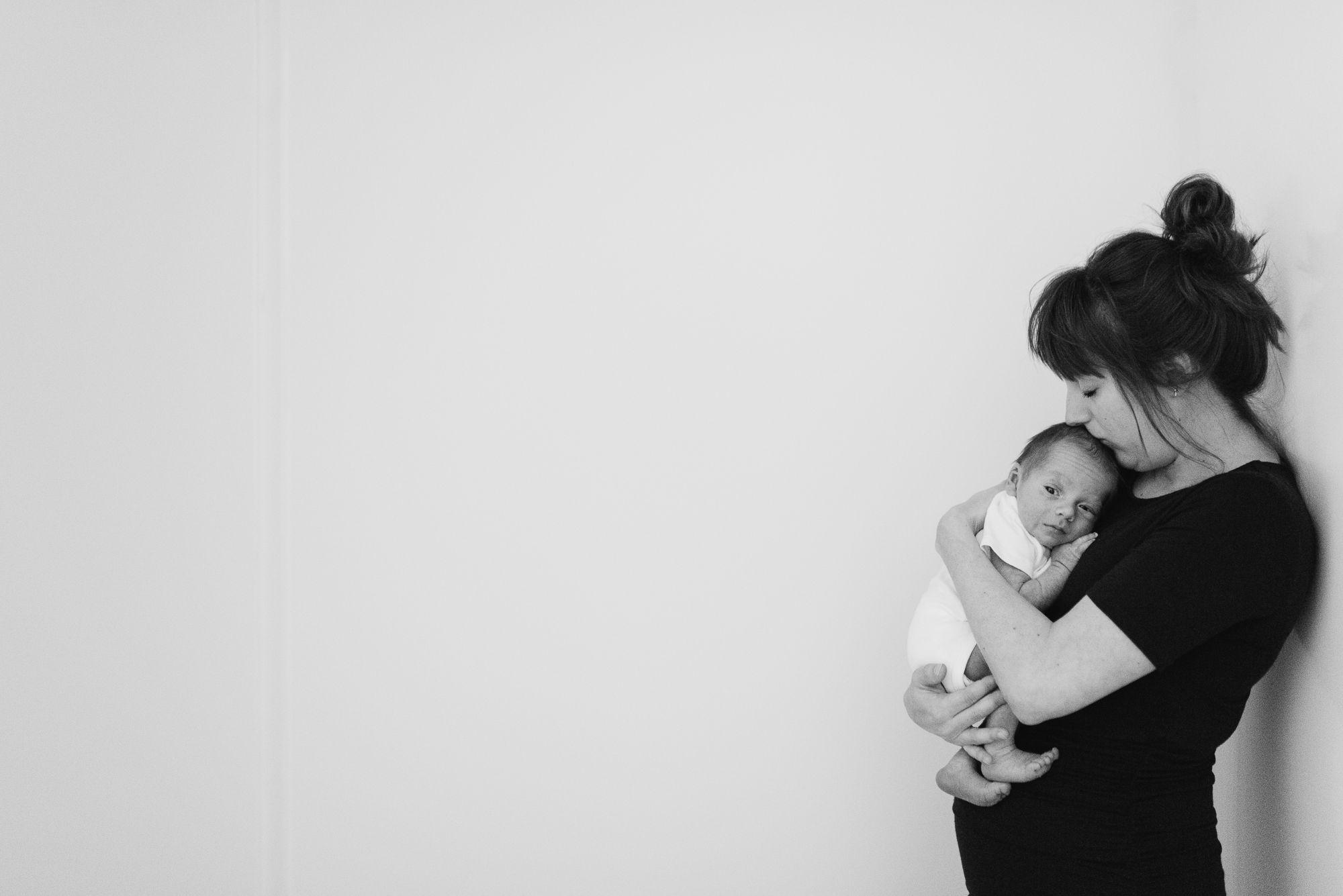 ongeposeerde foto's baby