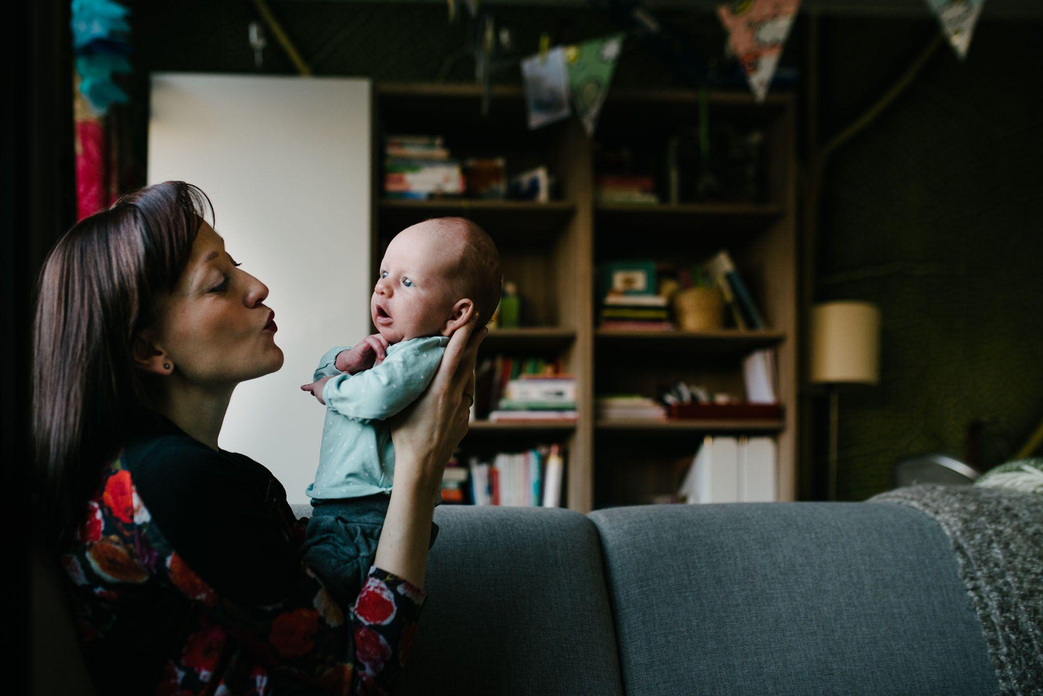 fotograaf newborn Den Bosch ongeposeerd