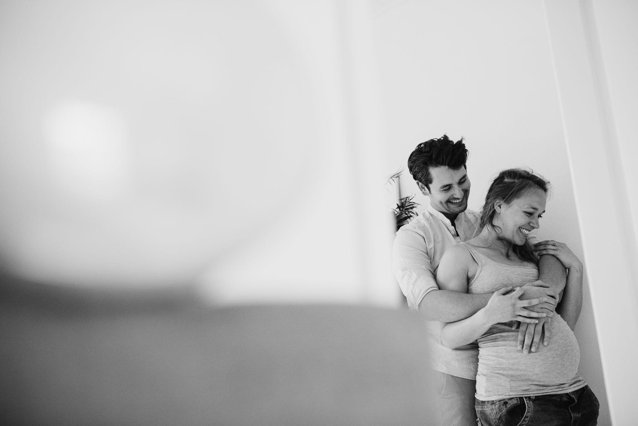 stoere foto's zwangerschap fotograaf Arnhem