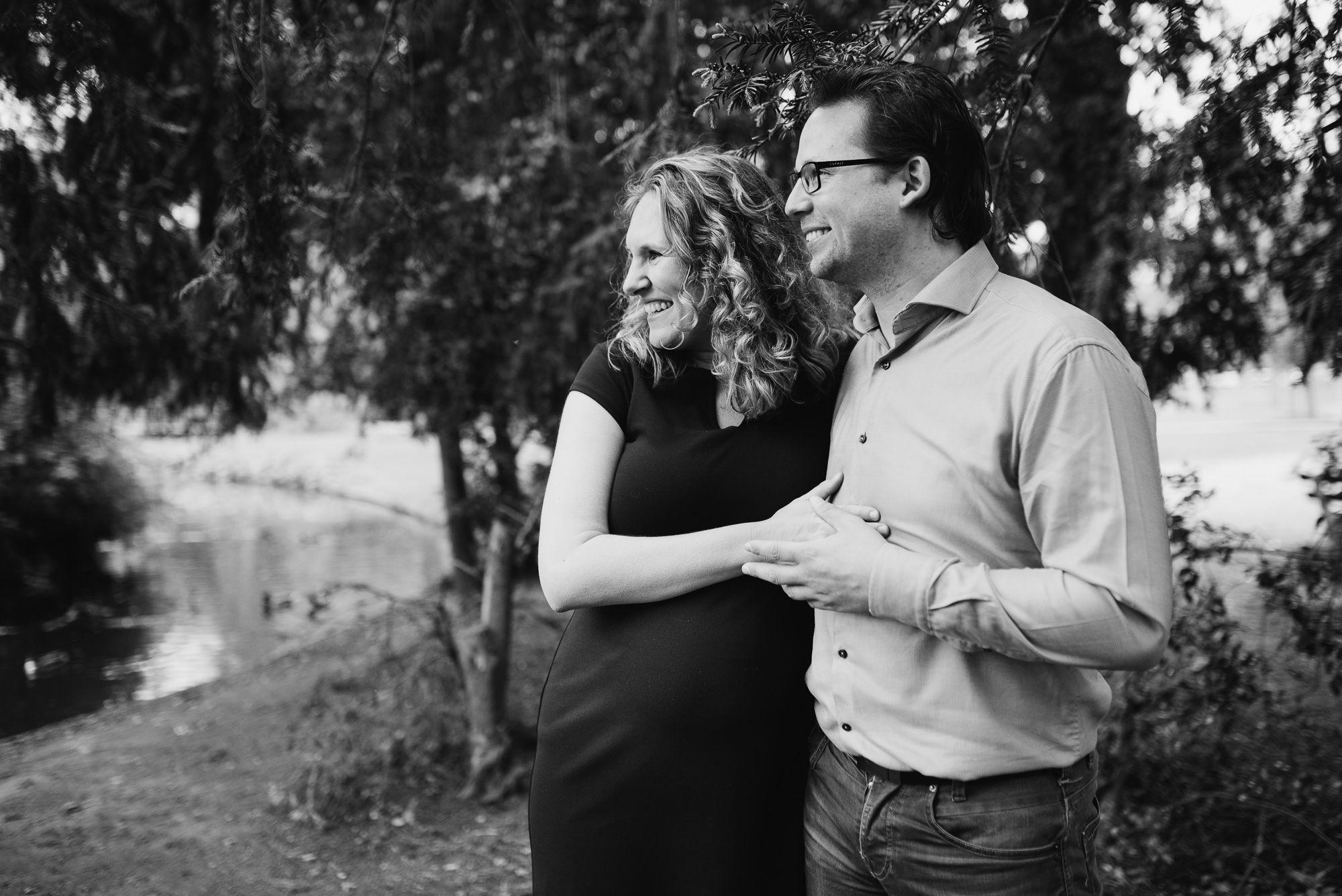 fotograaf zwangerschap Utrecht buitenlocatie