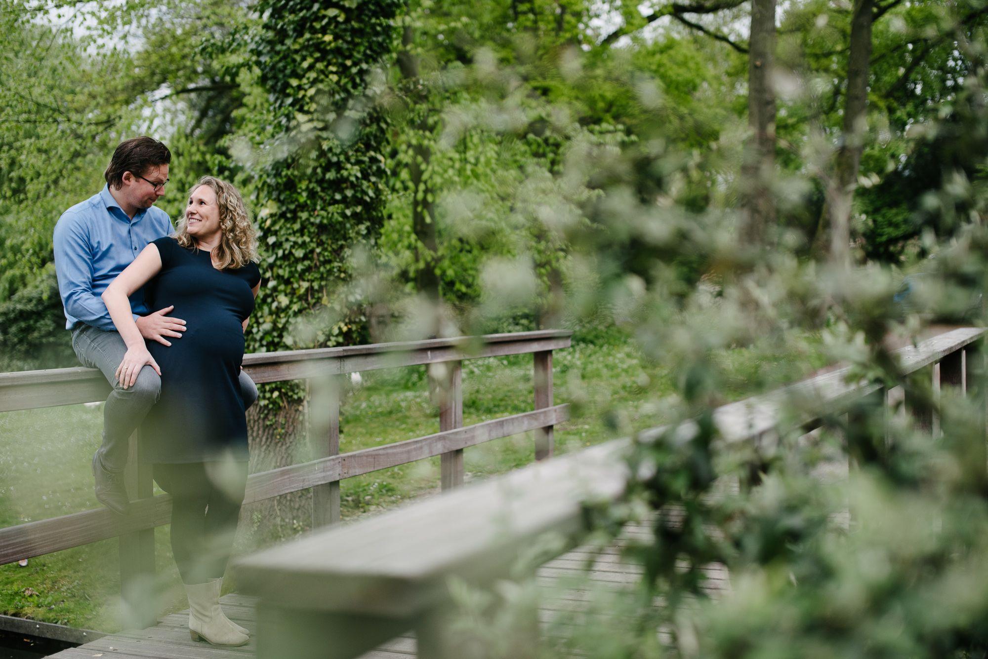 fotograaf zwangerschap Utrecht met partner