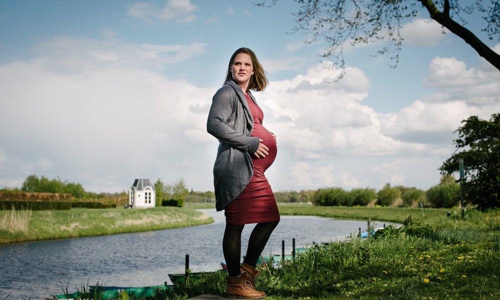 stoere zwangerschapsfotografie