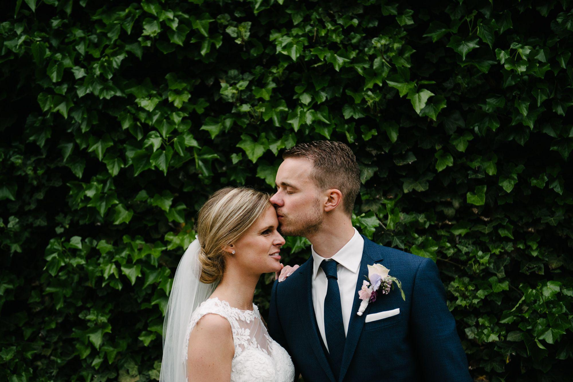 foto's bruiloft buiten