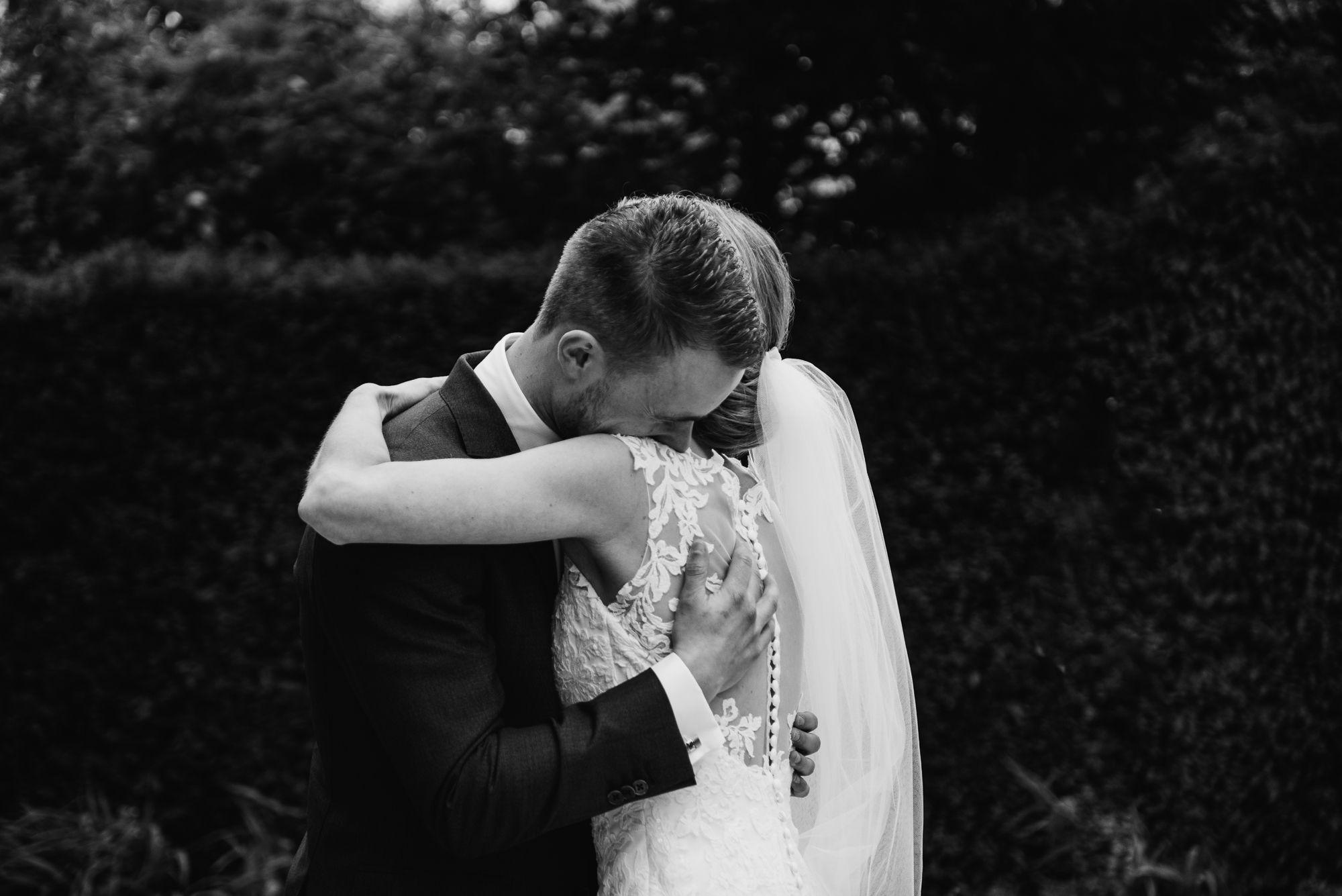 journalistieke foto's bruiloft