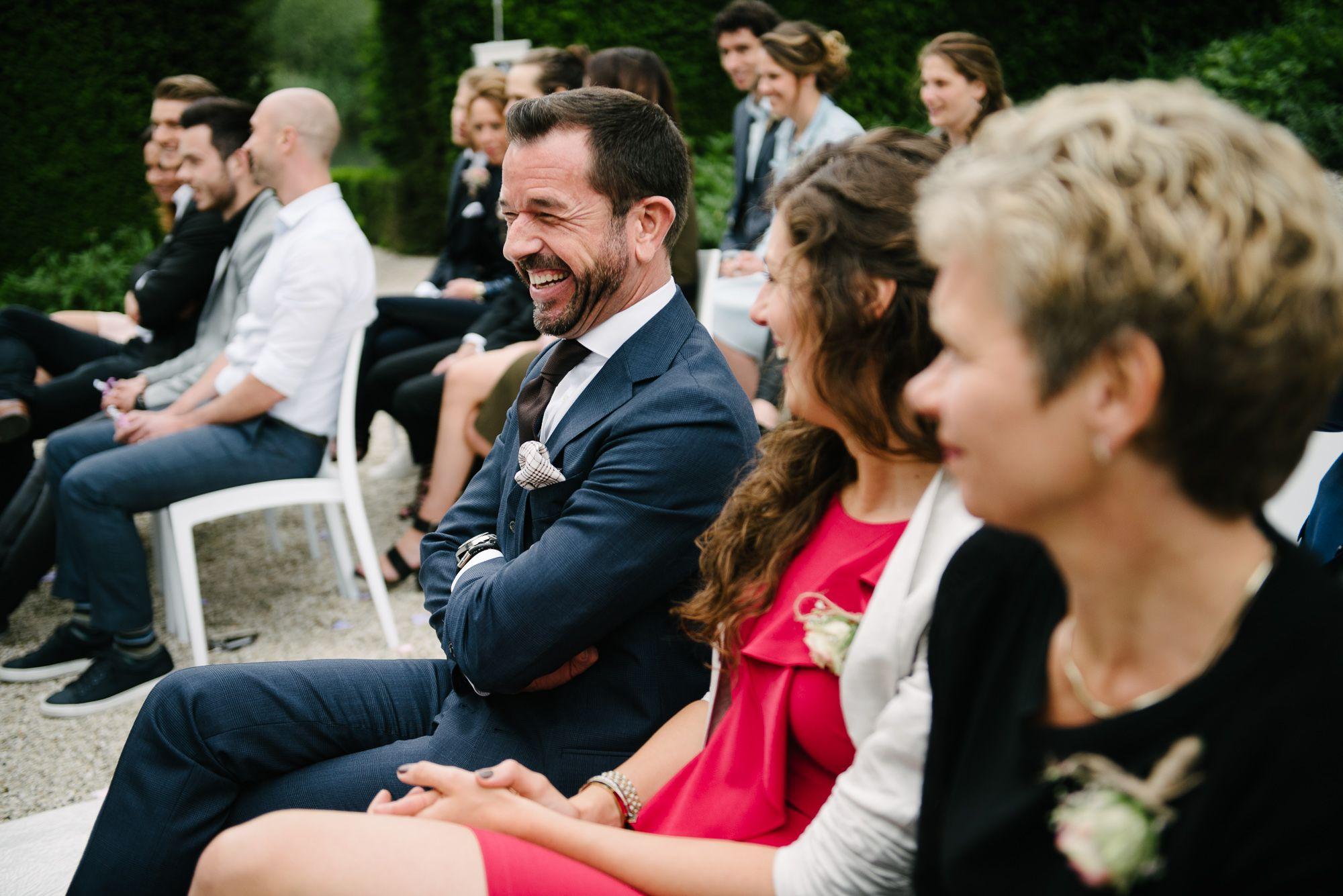 foto's bruiloft niet geposeerd