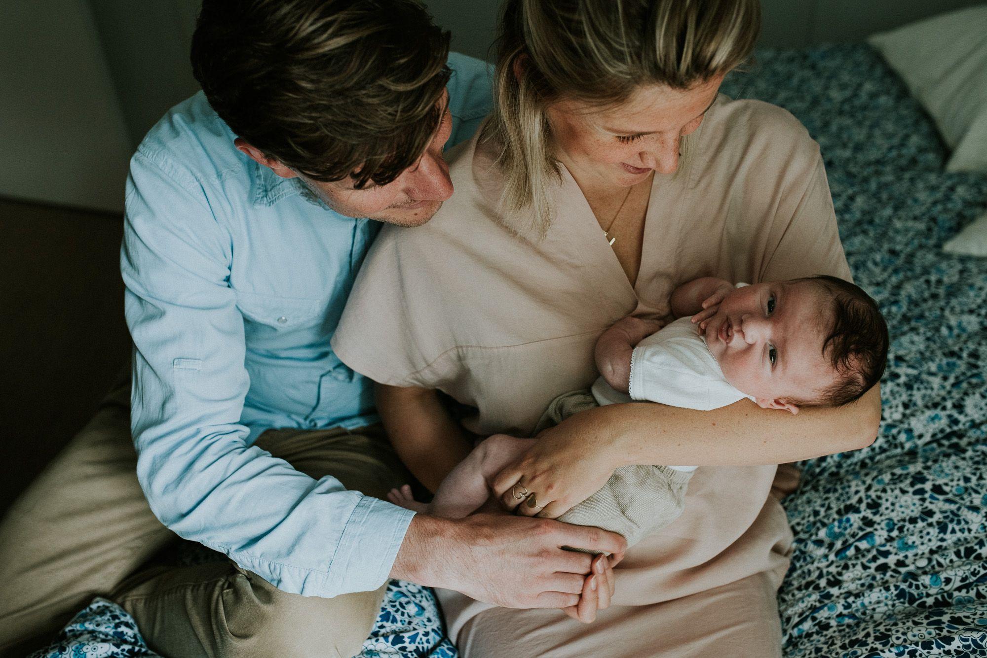 ongeposeerde foto's newborn