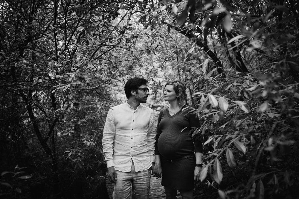 stoere zwangerschapsfotografie buiten