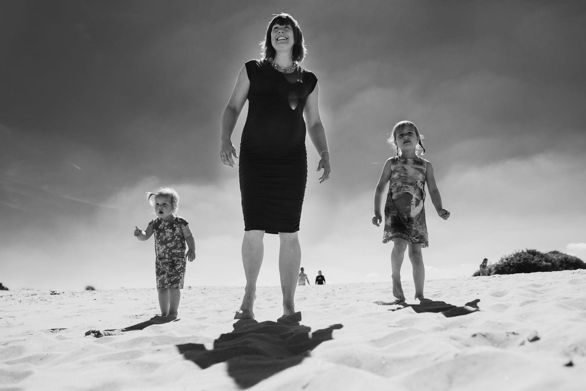 stoere fotoshoot zwangerschap op locatie