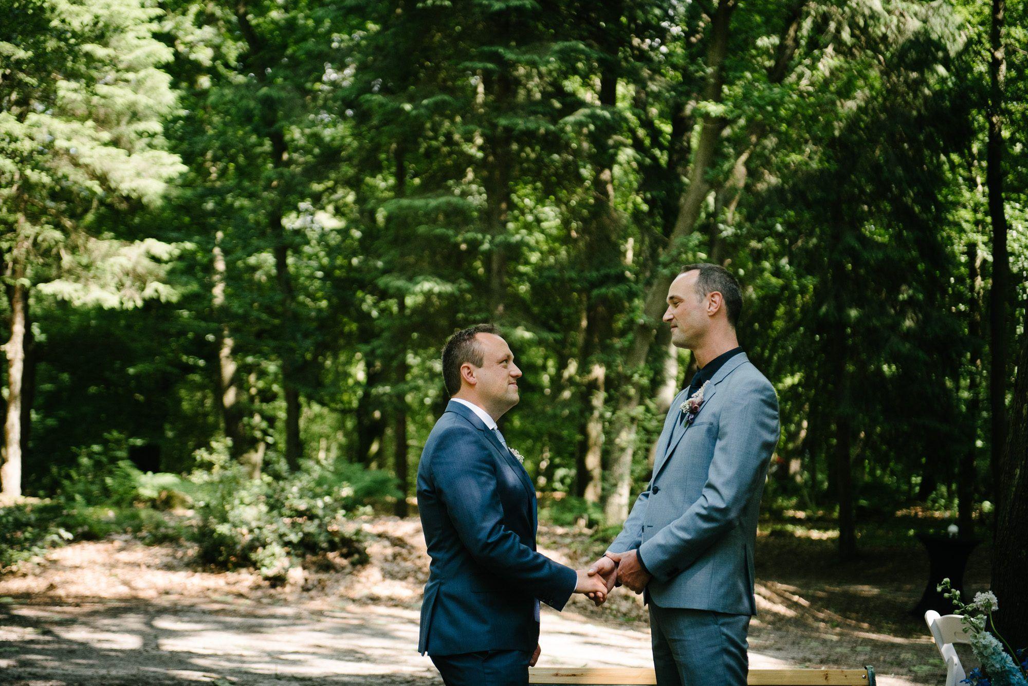 fotograaf bruiloft twee mannen
