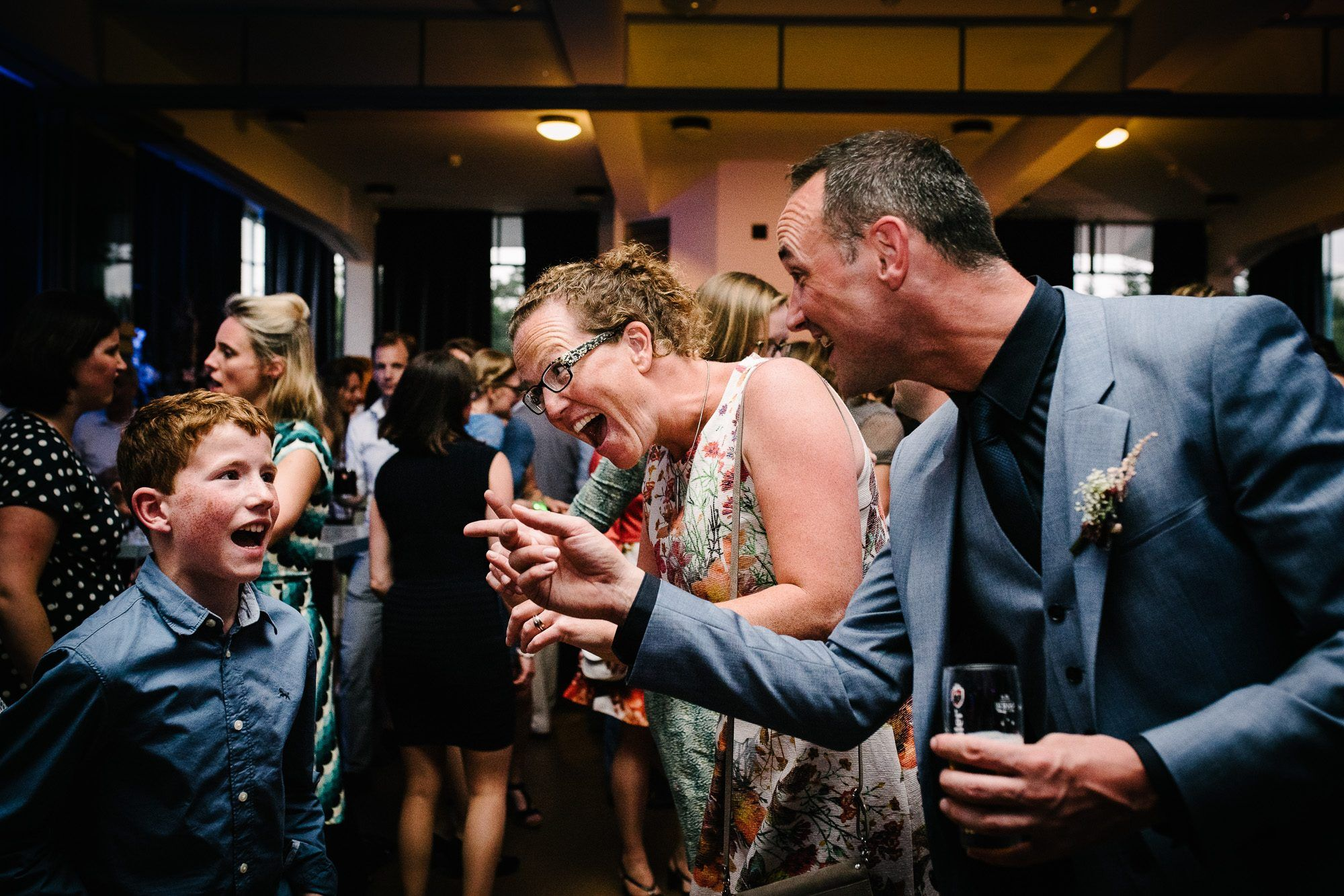 foto's feest bruiloft Utrecht