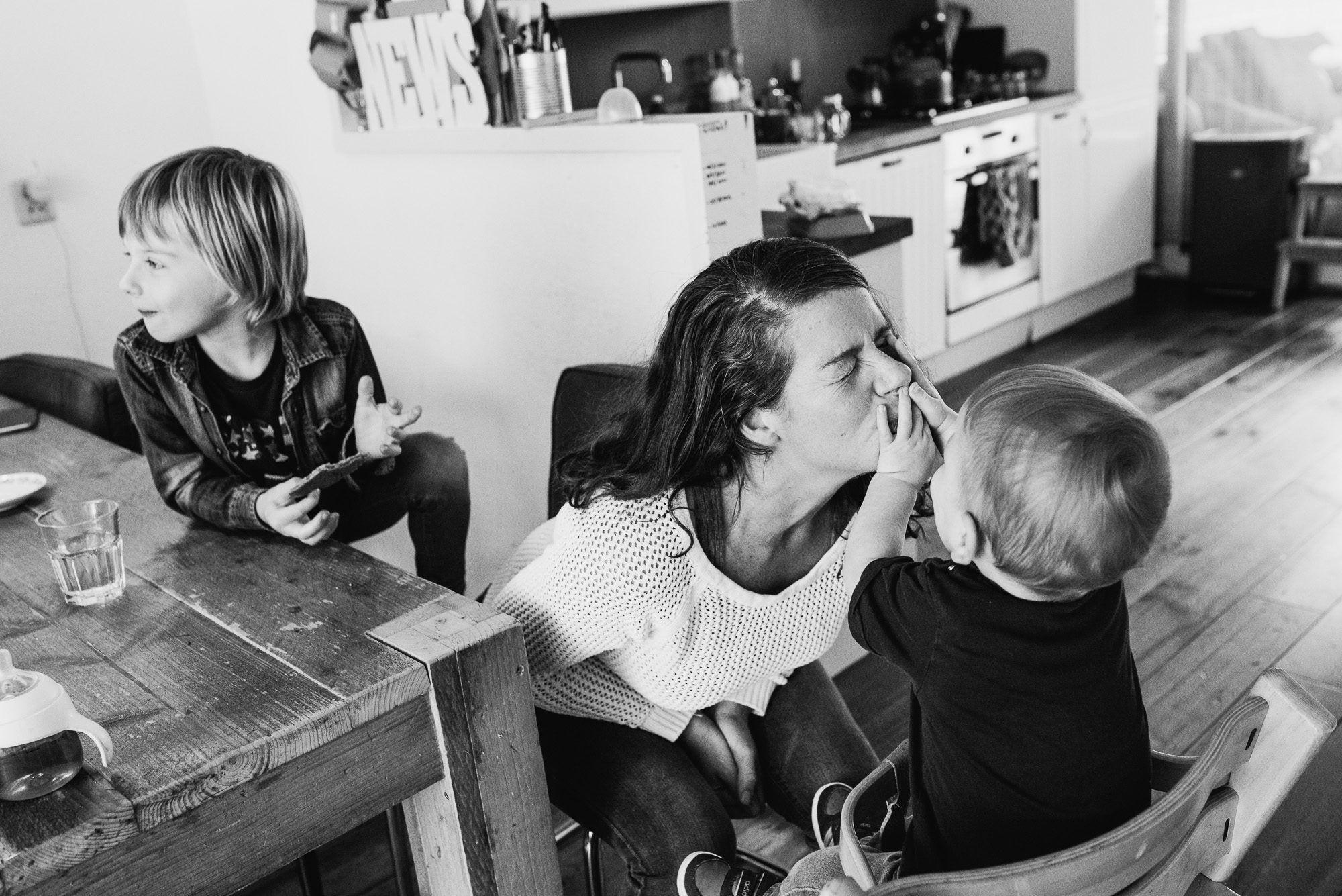 spontane familiefoto's Boxtel