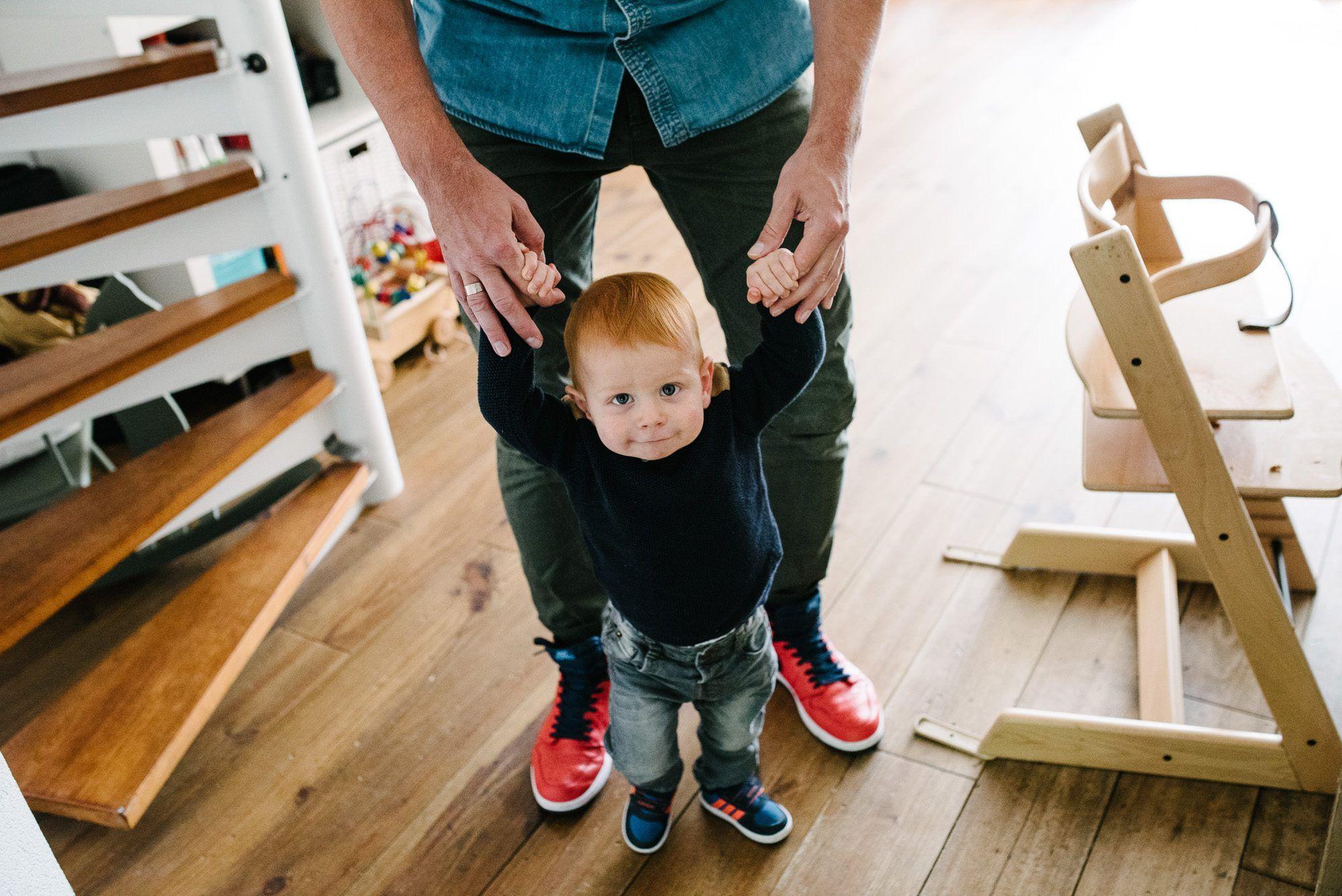 fotoshoot met kinderen thuis