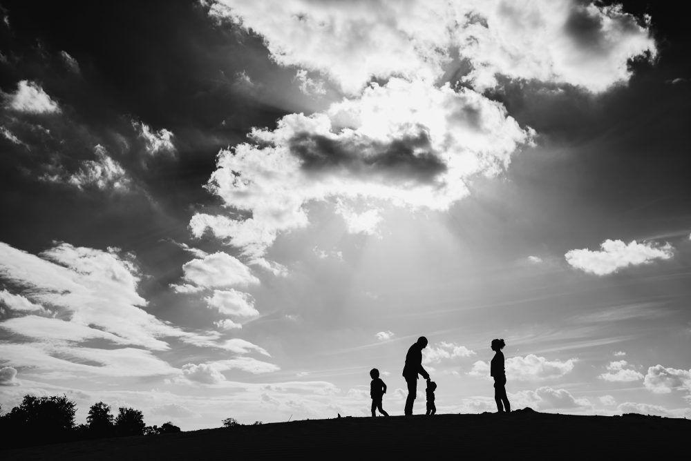 spontane foto's gezin kinderen Boxtel