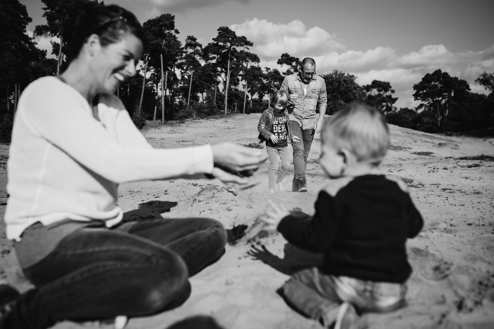 natuurlijke foto's gezin fotograaf Boxtel