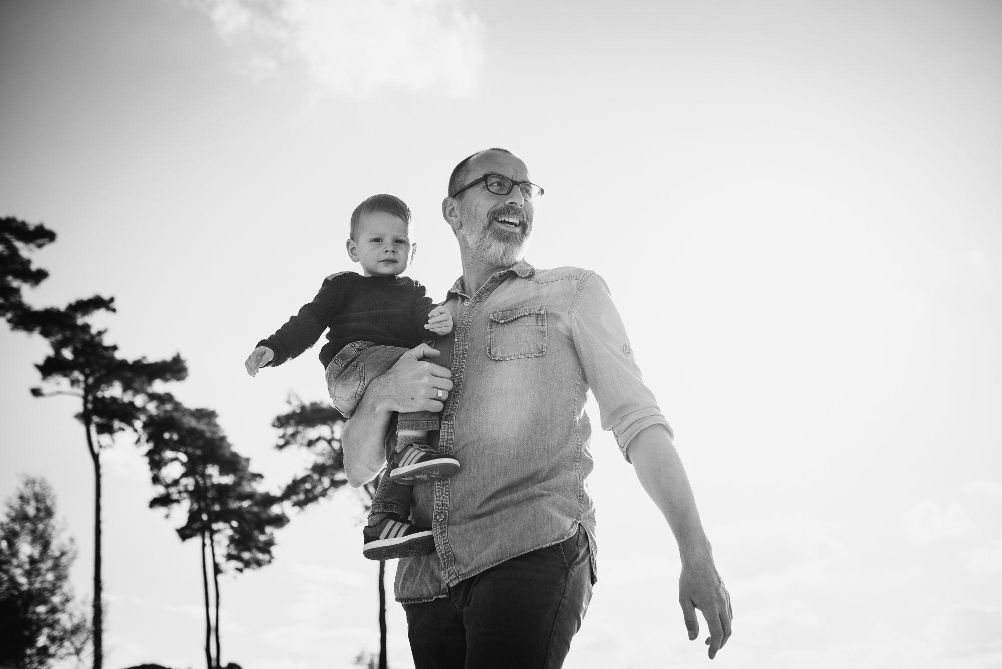outdoor fotoshoot gezin