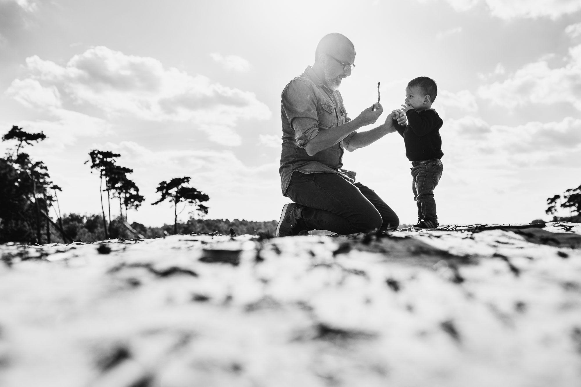 natuurlijke foto's met kinderen