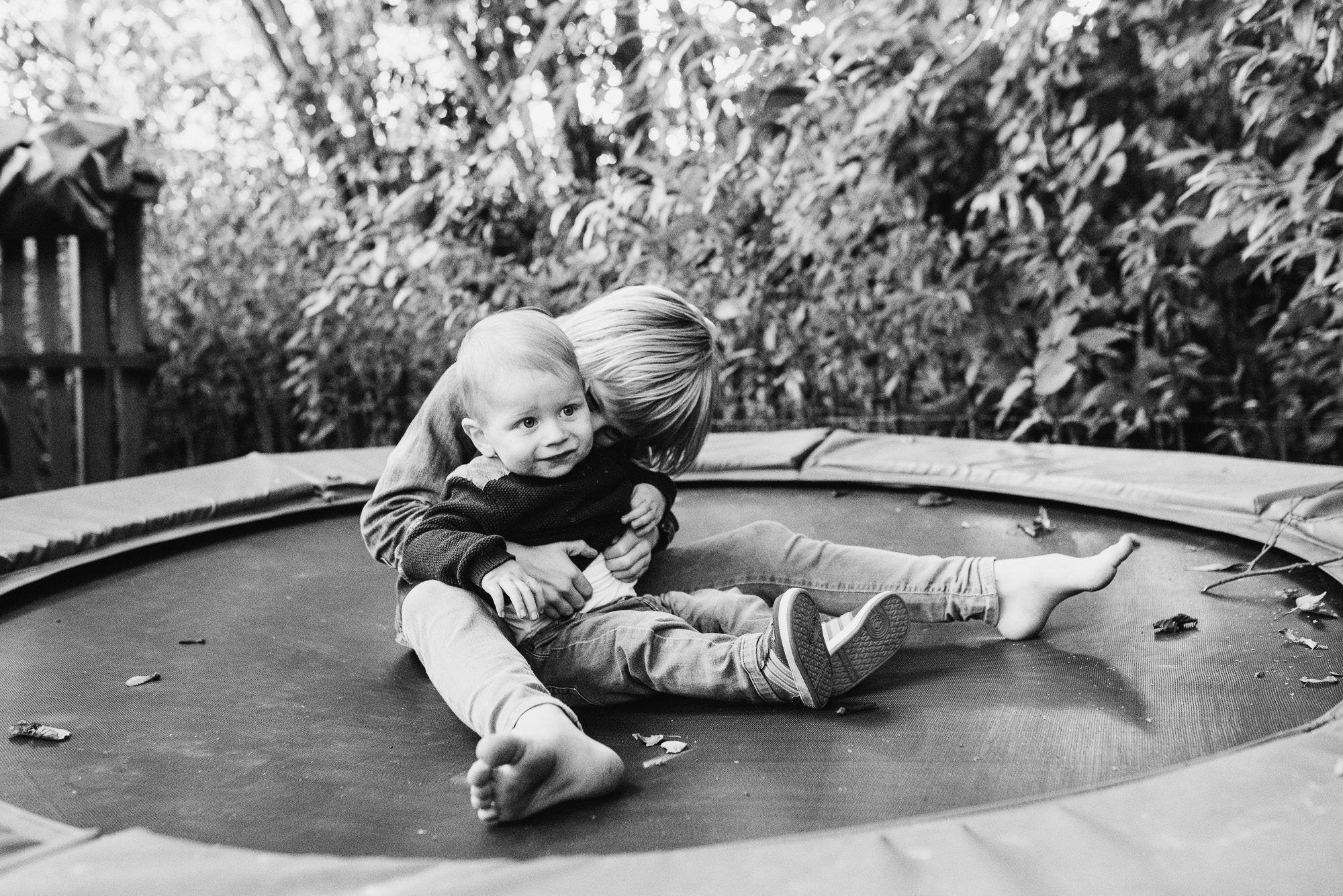 fotoshoot met kinderen buiten