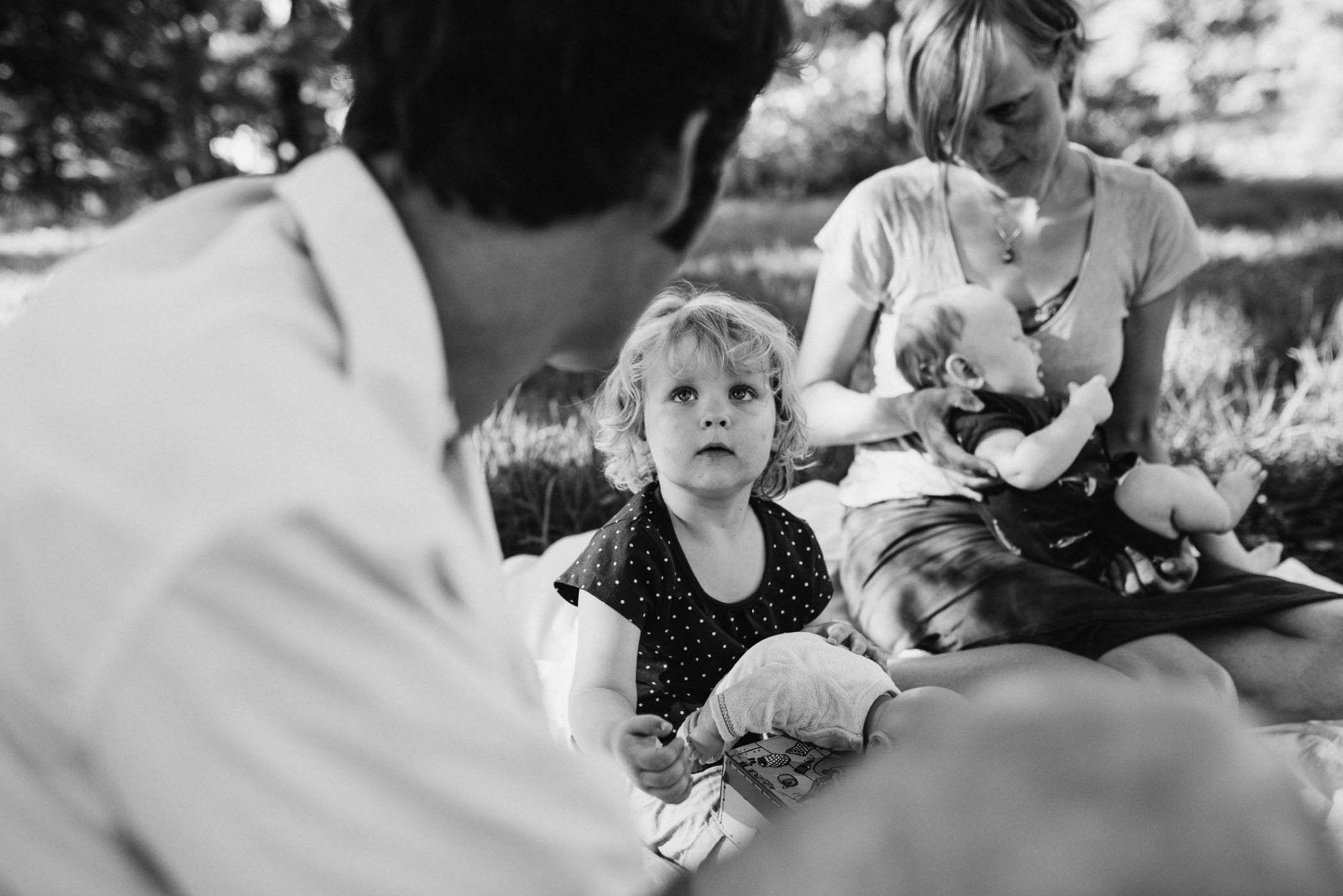 fotograaf gezin outdoor spontaan