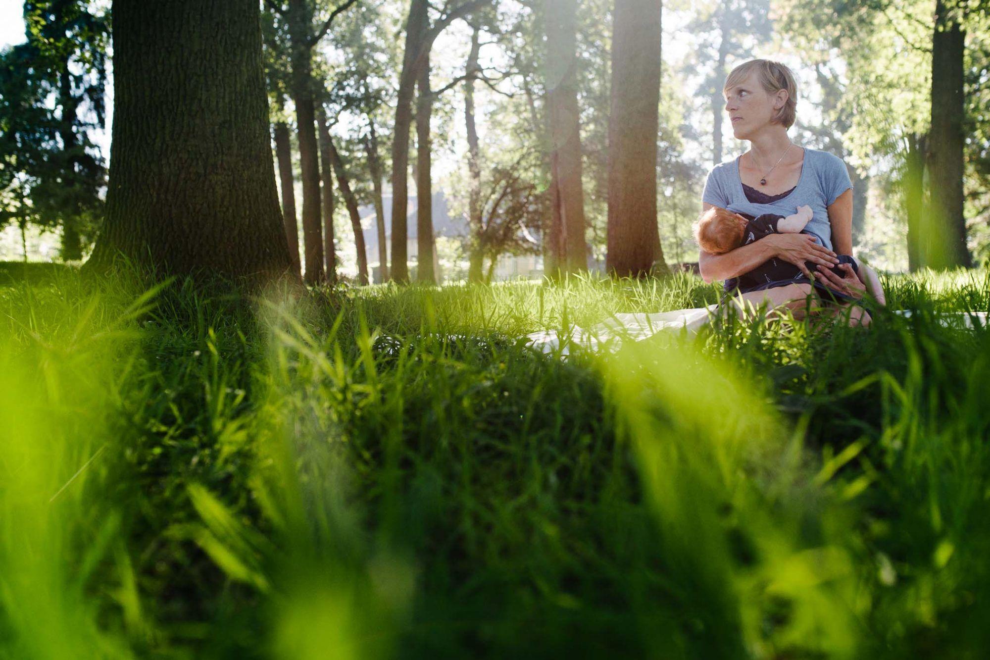 fotograaf gezin outdoor ongeposeerd