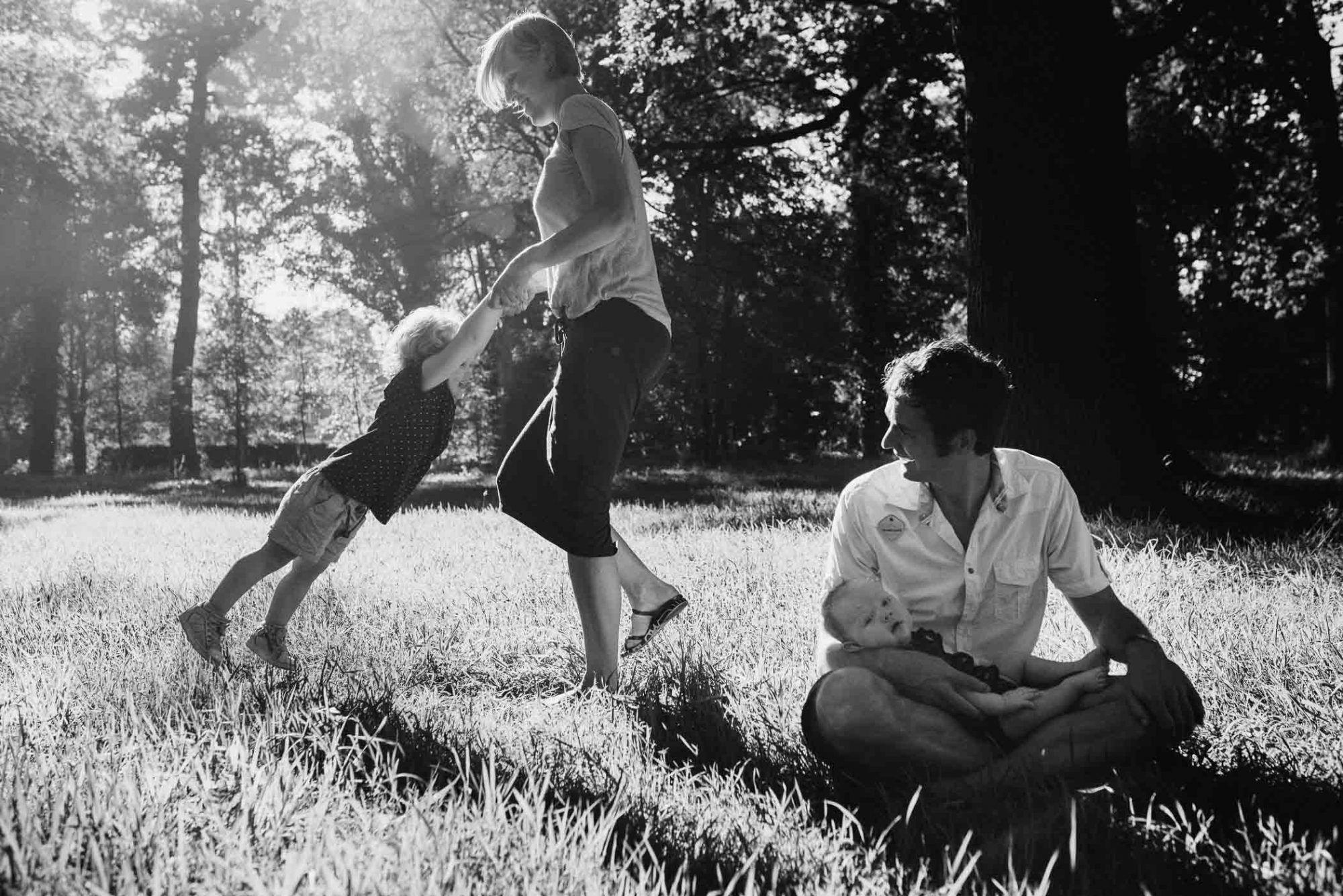natuurlijke foto's kinderen