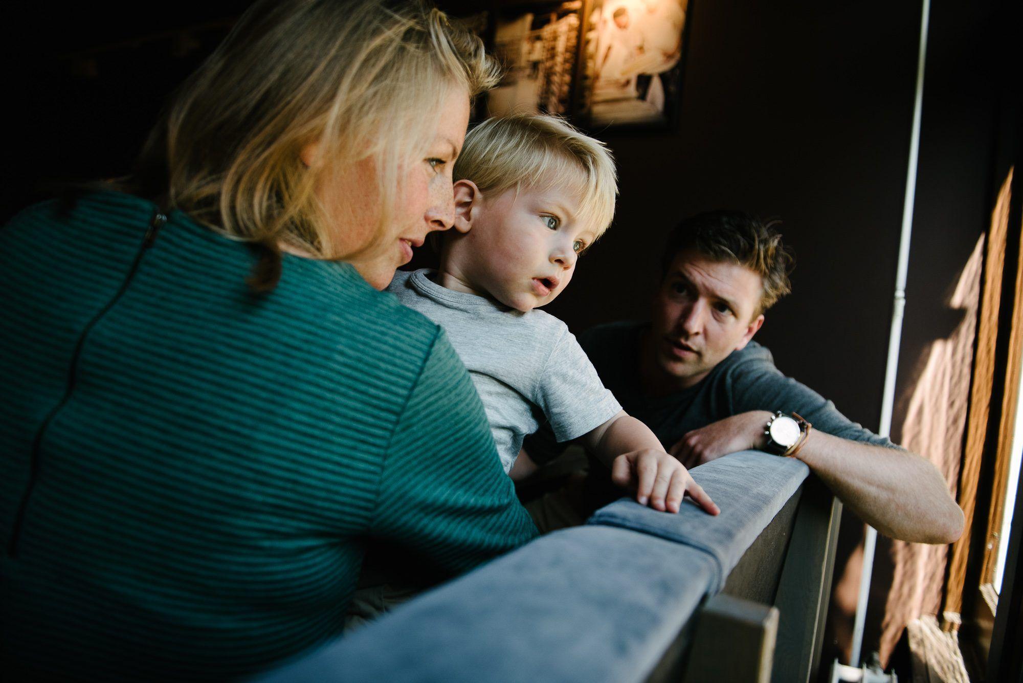 ongeposeerde foto's gezin Utrecht