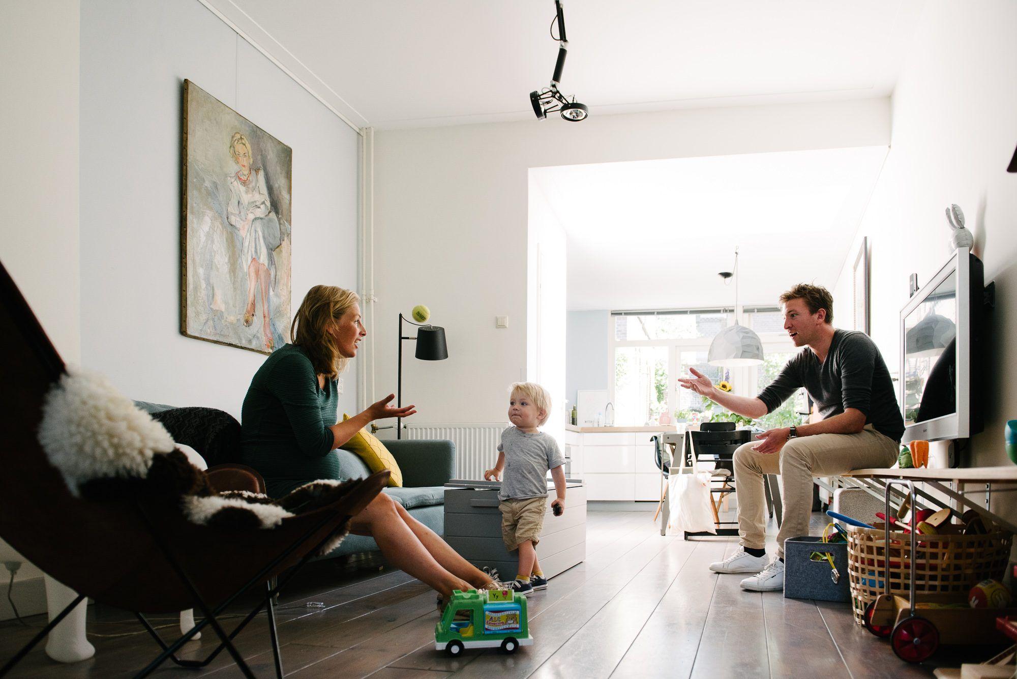 spontane fotoshoot gezin Utrecht