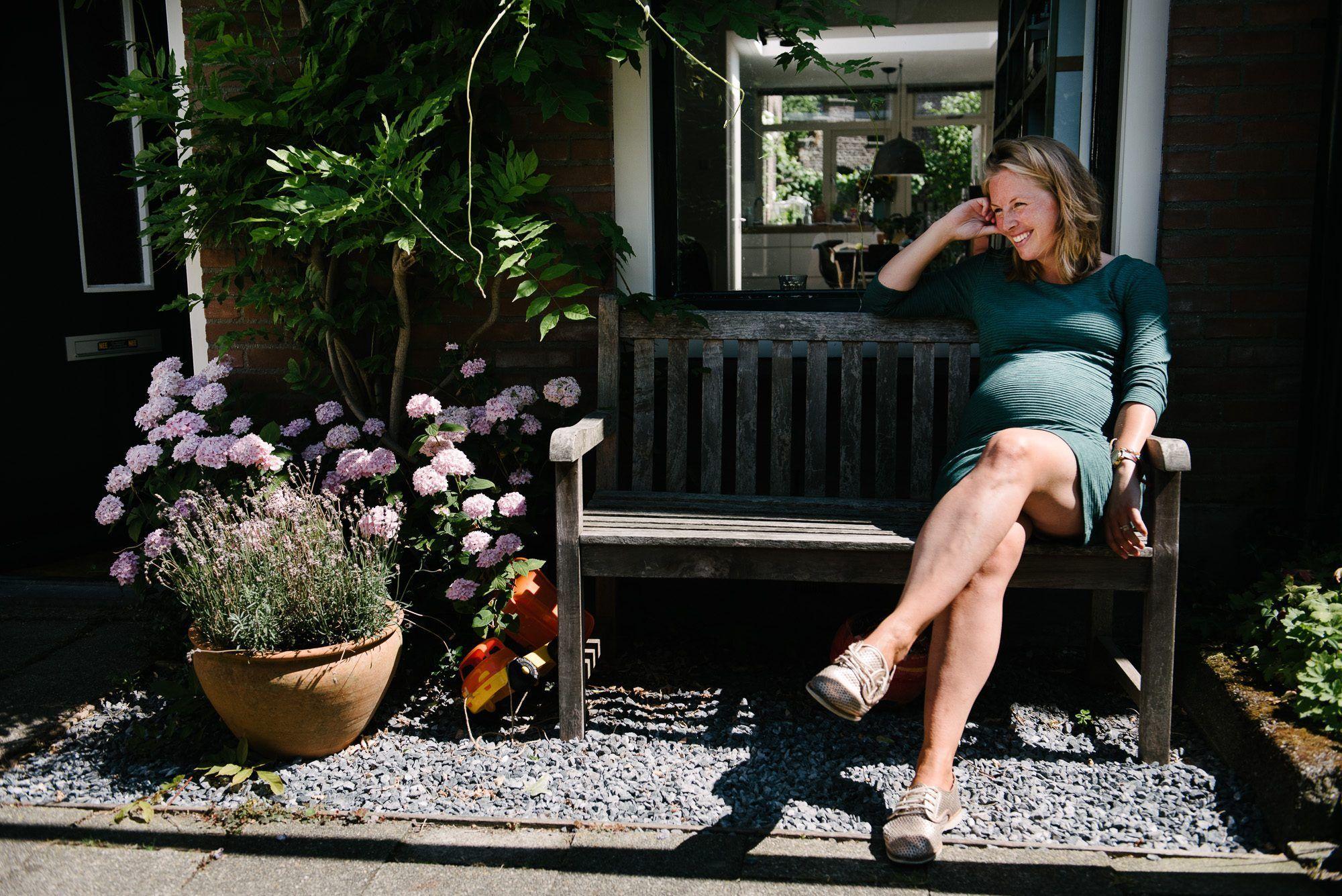 spontane foto's zwanger Utrecht