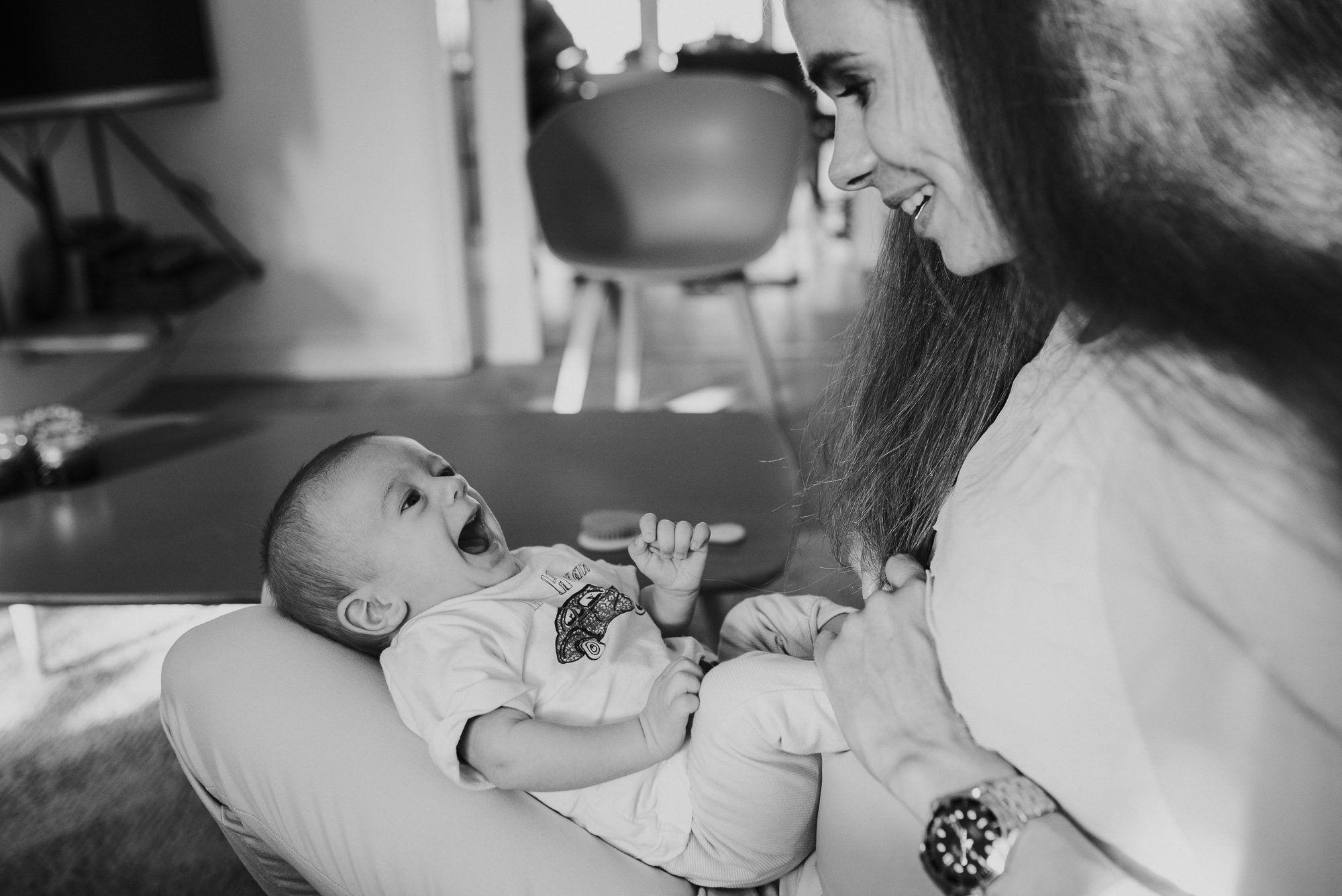 Fotograaf newborn ongeposeerd