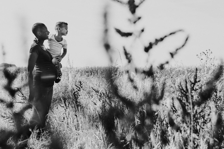 zwangerschapsfotoshoot met kind