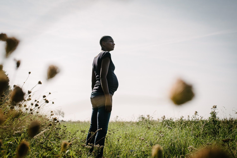 fotograaf zwangerschap stoer